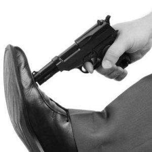 in-de-voet-schieten-zw